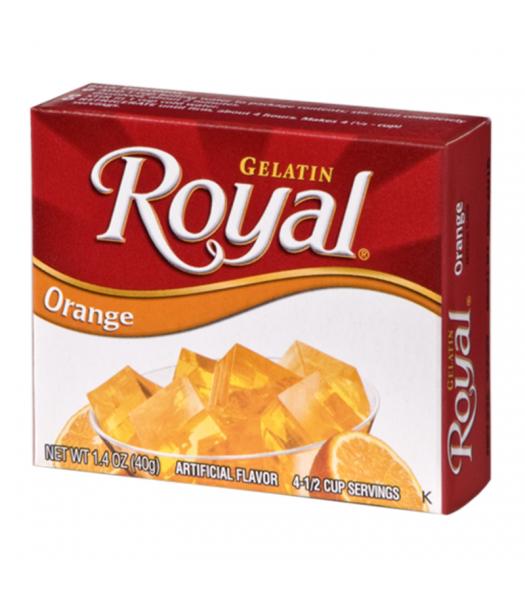 Royal Gelatin - Orange - 1.4oz (40g) Food and Groceries Royal