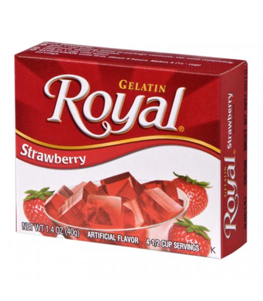 Royal Gelatin - Strawberry - 1.4oz (40g) Food and Groceries Royal