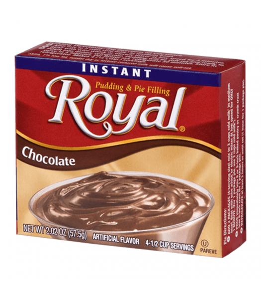 Royal Pudding - Chocolate - 2.02oz (57.5g) Food and Groceries Royal