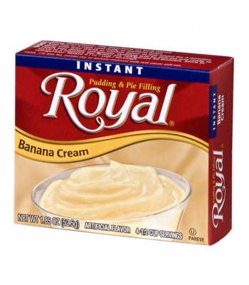 Royal Pudding - Banana Cream - 1.85oz (52.5g)