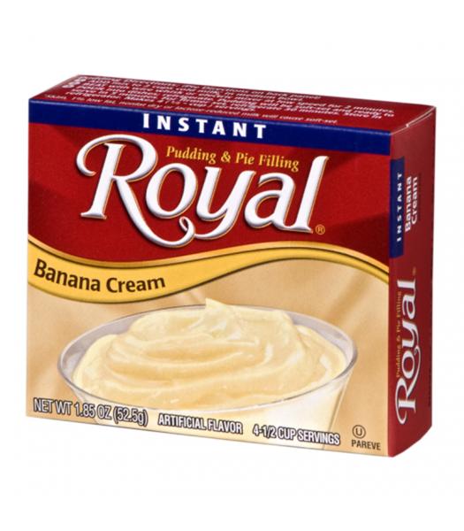 Royal Pudding - Banana Cream - 1.85oz (52.5g) Food and Groceries Royal