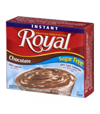 Royal Pudding Sugar Free - Chocolate - 1.7oz (48g) Food and Groceries Royal