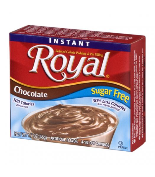 Royal Pudding Sugar Free - Chocolate - 1.7oz (48g) Food and Groceries Royal