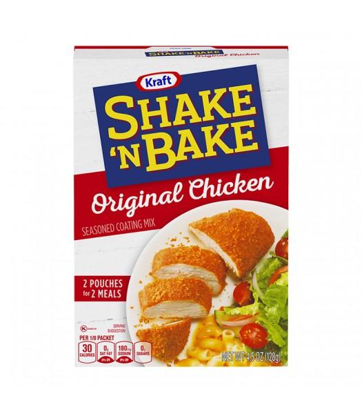Shake 'N Bake Original Chicken Seasoned Coating Mix - 4.5oz (128g) Food and Groceries Kraft