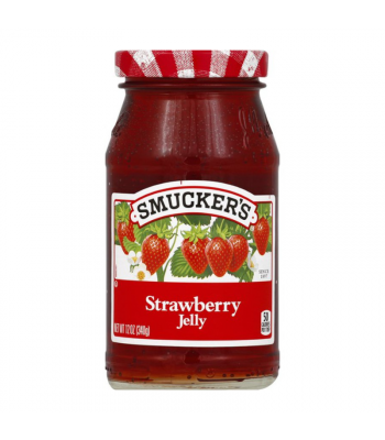 Smucker's Strawberry Jelly - 12oz (340g) Food and Groceries Smucker's