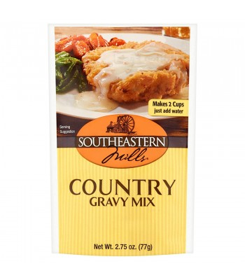 Southeastern Mills Country Gravy Mix 2.75oz (77g) Food and Groceries Southeastern Mills