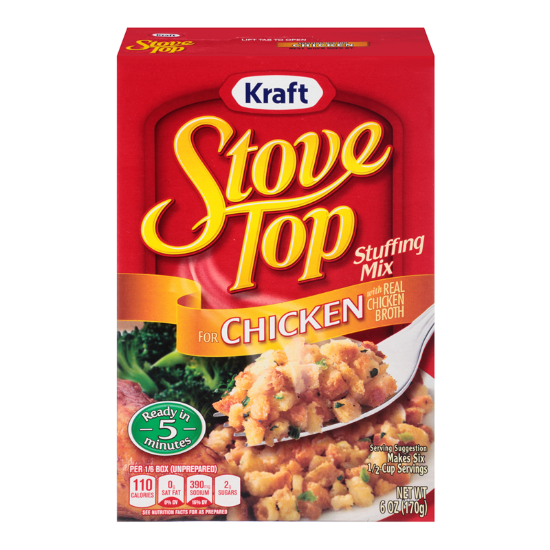 Stove Top Chicken Stuffing Mix 6oz (170g)