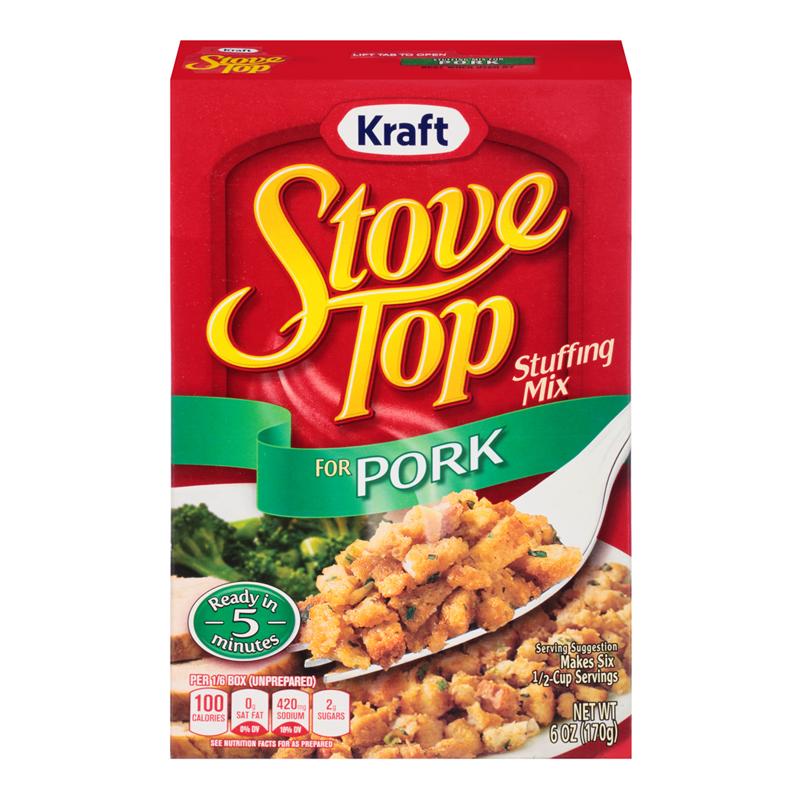 stove top pork stuffing mix 6oz 170g american fizz