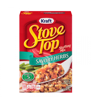Stove Top Savoury Herb Stuffing Mix 6oz (170g) Baking & Cooking Stove Top