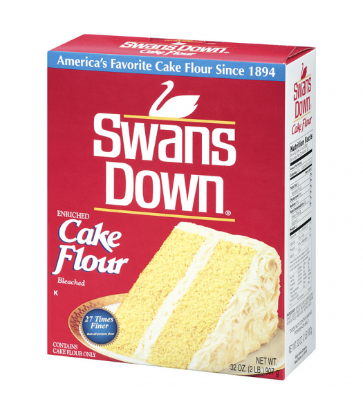 Swans Down Enriched Cake Flour 32oz (907g) Food and Groceries