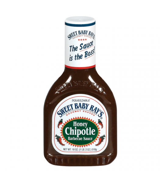 Sweet Baby Rays BBQ Sauce Honey Chipotle 18oz (510g) Sauces & Condiments Sweet Baby Ray's