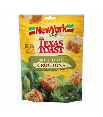 Texas Toast Zesty Italian Croutons - 5oz (142g) Food and Groceries