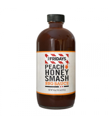 TGI Fridays Peach Honey Smash BBQ Sauce - 18oz (510g) Food and Groceries TGI Fridays