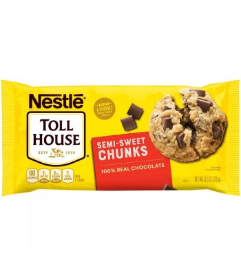 Nestle Toll House Semi Sweet Chocolate Chunks - 11.5oz (326g) Food and Groceries Nestle