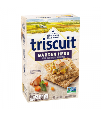 Triscuit Garden Herb Crackers - 8.5oz (240g) Snacks and Chips