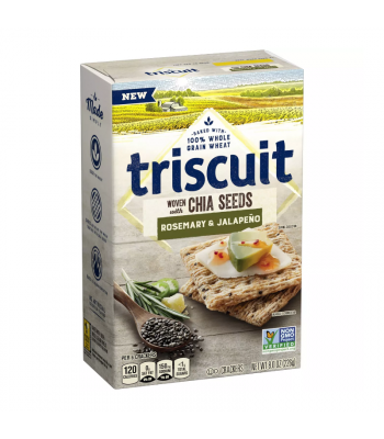 Clearance Special - Triscuit Rosemary & Jalapeno Crackers - 8oz (226g) **Best Before: March 21** Clearance Zone