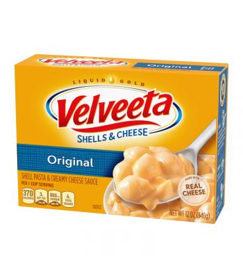 Velveeta Original Shells and Cheese - 12oz (340g) Food and Groceries