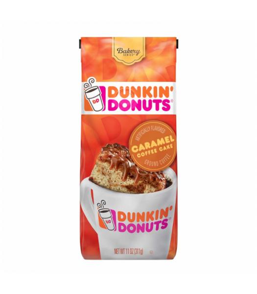 Dunkin' Donuts Caramel Coffee Cake Ground Coffee 11oz (311g) Soda and Drinks Dunkin' Donuts