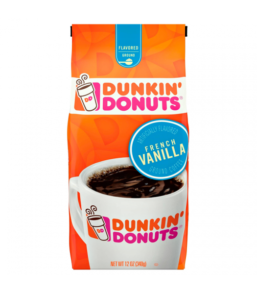 Dunkin' Donuts French Vanilla Ground Coffee 12oz (340g) Hot Drinks Dunkin' Donuts