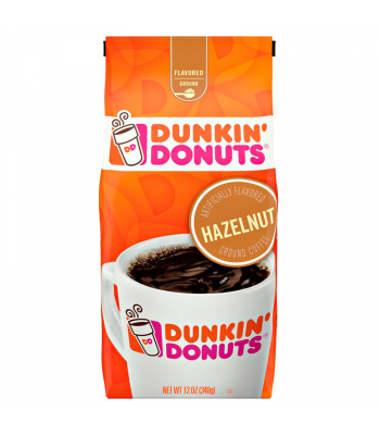 Dunkin' Donuts Hazelnut Flavoured Ground Coffee 12oz (340g) Hot Drinks Dunkin' Donuts