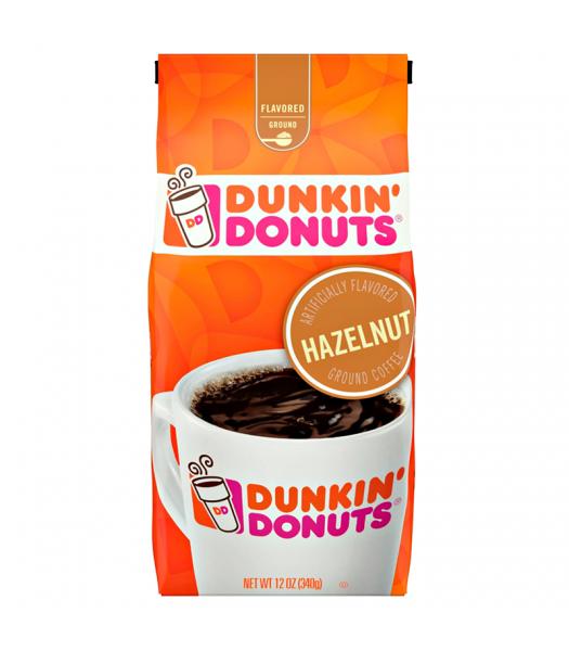 Dunkin' Donuts Hazelnut Flavoured Ground Coffee 12oz (340g) Hot Drinks Dunkin' Donuts
