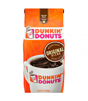 Dunkin' Donuts Original Blend Ground Coffee 12oz (340g) Hot Drinks Dunkin' Donuts