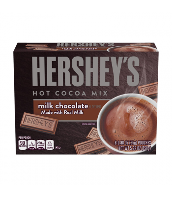 Hershey's Milk Chocolate Hot Cocoa Mix - 5.29oz (150g) Soda and Drinks Hershey's