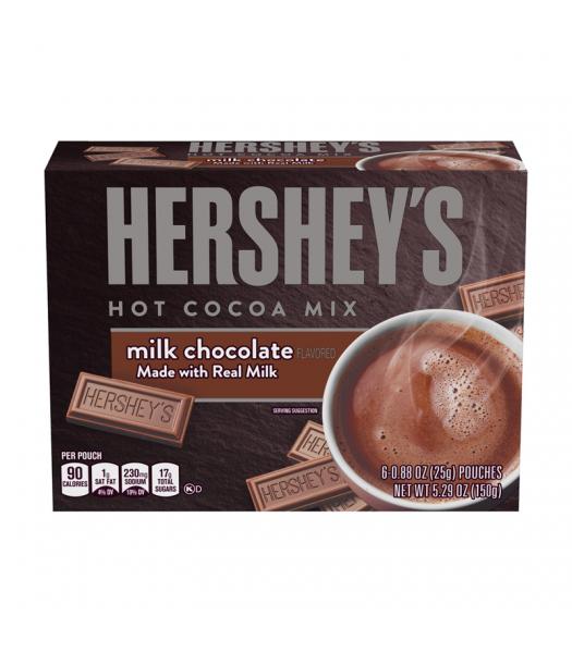 Hershey's Milk Chocolate Hot Cocoa Mix - 5.29oz (150g) Soda and Drinks Hershey's