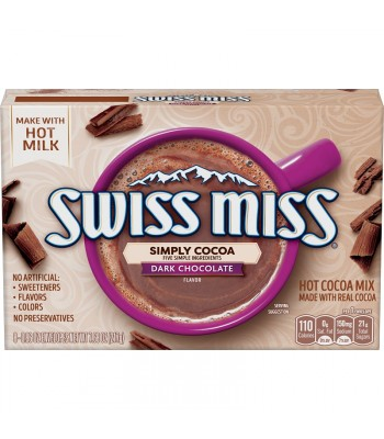 Swiss Miss Simply Dark Chocolate 7.68oz (217g) Hot Drinks Swiss Miss