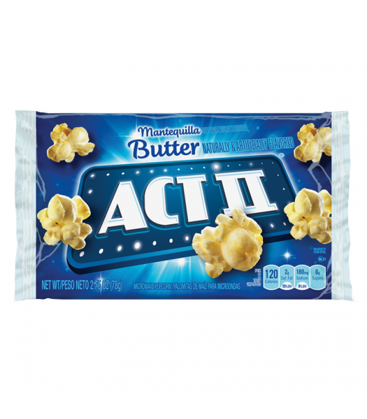 Act II Butter Popcorn - 2.75oz (78g) Snacks and Chips