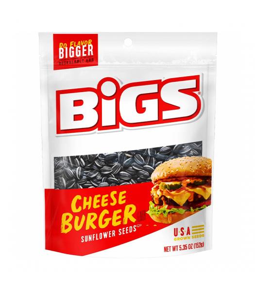 BIGS Sunflower Seeds - Cheeseburger - 5.35oz (152g)