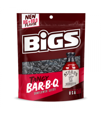 Big's Sunflower Seeds Tangy BBQ - 5.35oz (152g) Snacks and Chips BIGS