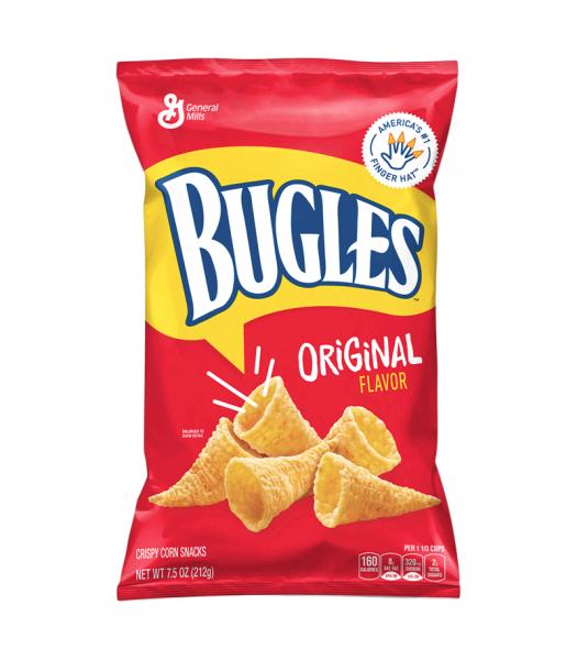 Bugles Original Flavour Corn Snacks - 7.5oz (212g) Snacks and Chips General Mills