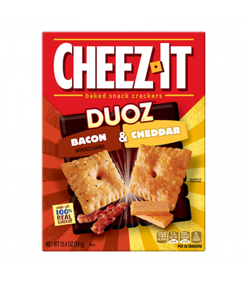 Cheez It Duoz Bacon & Cheddar 12.4oz (351g)