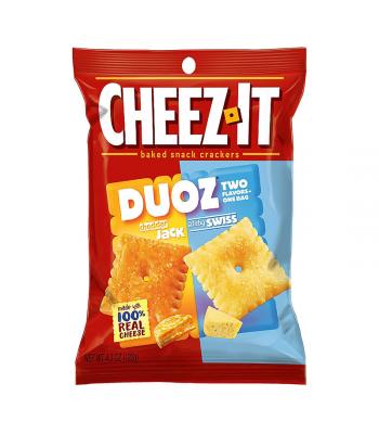 Cheez It Duoz Cheddar Jack & Baby Swiss 4.3oz (122g) Food and Groceries Cheez It