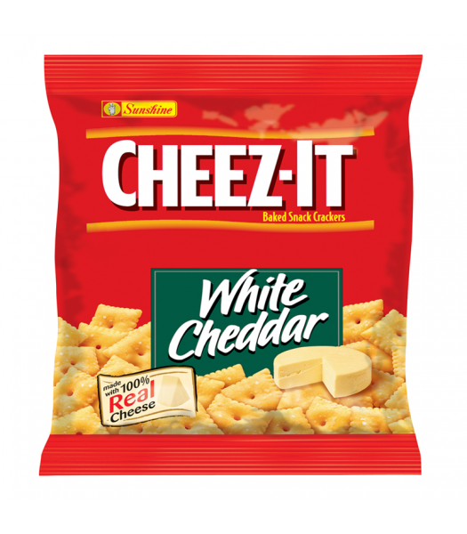 Cheez It Crackers White Cheddar 1.5oz (42g)