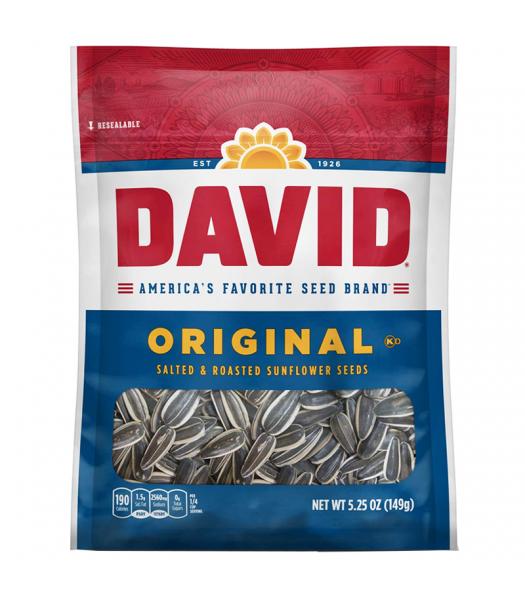 David's Sunflower Seeds Original - 5.25oz (149g) Snacks and Chips