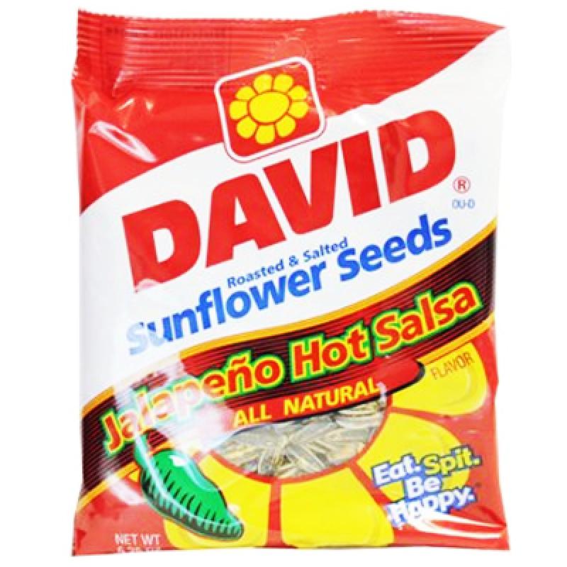 David's Sunflower Seeds Jalapeno Hot Salsa 5.25oz (149g ...