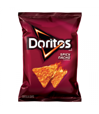 Clearance Special - Doritos Spicy Nacho Cheese Corn Chips 7oz (198.4g) **Best Before: 21 May 21** Clearance Zone