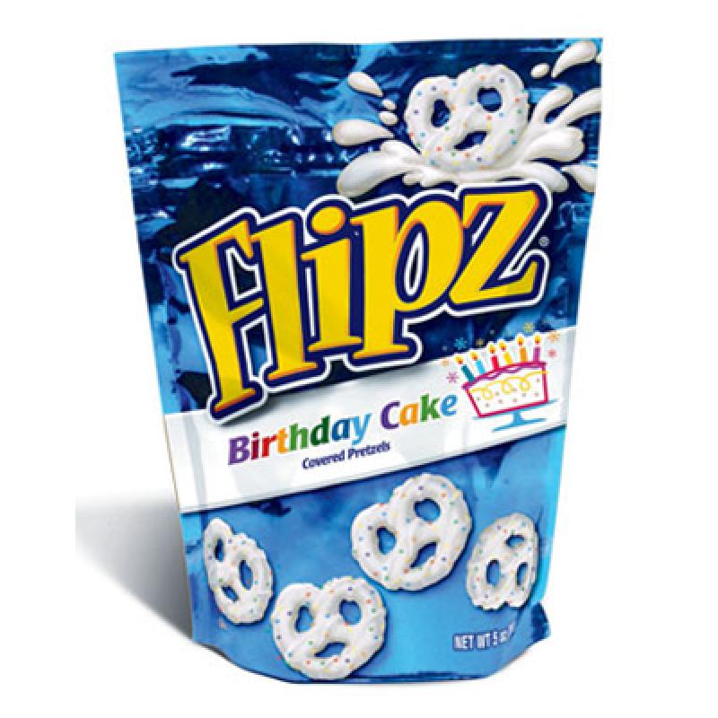 DeMet's Flipz Birthday Cake Covered Pretzels 5oz (141g