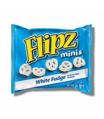 DeMet's Flipz Grab N Go Mini White Fudge Pretzels 2oz (57g) Pretzel Snacks DeMet's