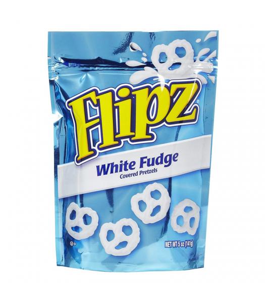 Demets Pretzel Flipz White Fudge 5oz (141g)