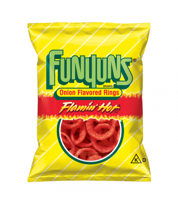 Funyuns Onion Rings - Flamin' Hot - HUGE Bag 5.75oz (163g)