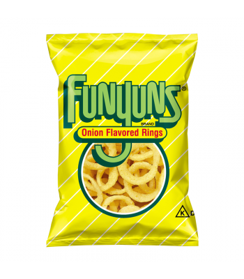 Frito Lay Funyuns Onion Rings 0.75oz (21.2g)