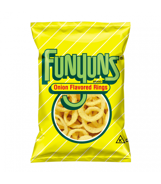 Frito Lay Funyuns Onion Rings 0.75oz (21.2g) Crisps & Chips Frito Lay