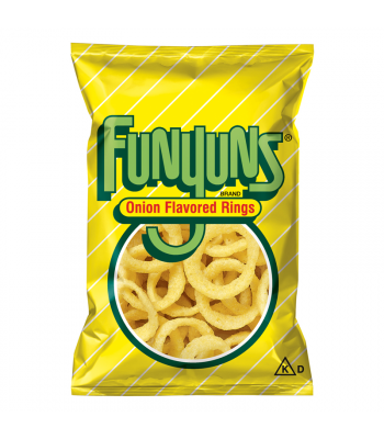 Funyuns Onion Rings - HUGE Bag 5.75oz (163g) Snacks and Chips Frito-Lay