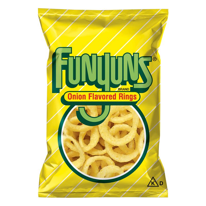 Funyuns Onion Rings - HUGE Bag 5.75oz (163g) - American Fizz