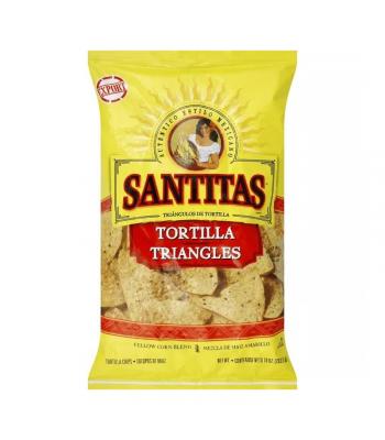 Frito Lay Santitas Yellow Corn Tortilla Chips - 10oz (284g) Snacks and Chips Frito-Lay