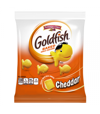 Pepperidge Farm Goldfish Cheddar Cheese Crackers - 1.5oz (43g) Snacks and Chips Pepperidge Farm