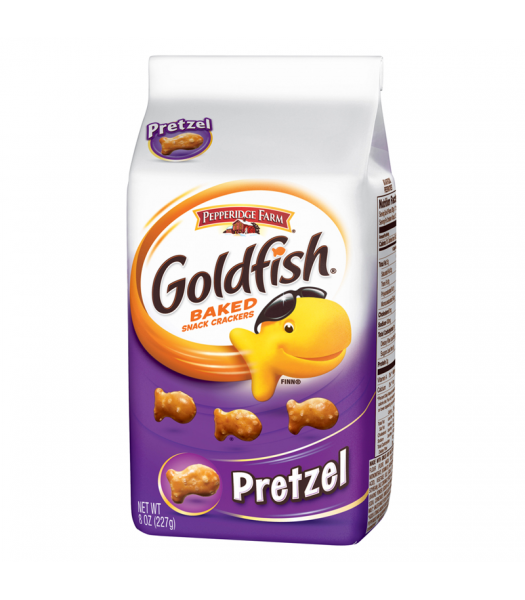 Pepperidge Farm Goldfish Crackers Pretzel Flavour 8oz (227g) Crackers Pepperidge Farm